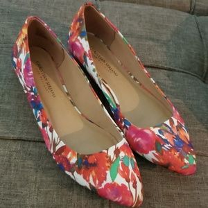 Colorful cute flats!!